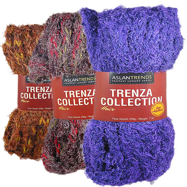 Lã Aslan Trenza Collection Hair - 200g