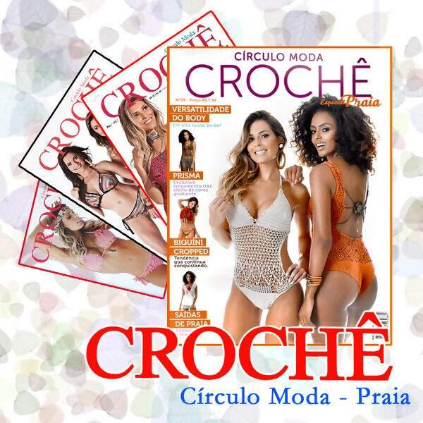 40f3b4a16f EscolhaR Círculo Revistas Crochê (Moda Praia) @ Lã Formosa