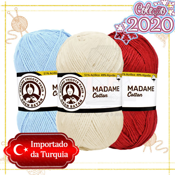 Madame Tricote: Madame Cotton - 100g (280m)