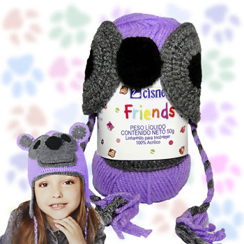 Cisne Friends Gorro - 50g (150m)