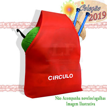 4b1a90fcc4b4d Círculo - Bolsa Porta Novelos (27cm x 21cm)