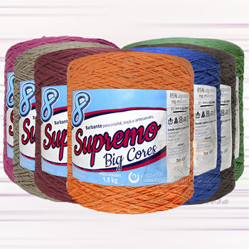 Barbante Supremo Big Cores nº8 - 1800 g