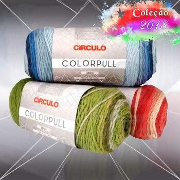 e1c8dc1a5 Lã Círculo ColorPull 200g ...