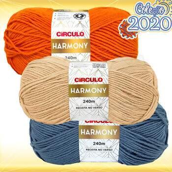 Lã Circulo Harmony - 100g(240m) 5c40be843f7