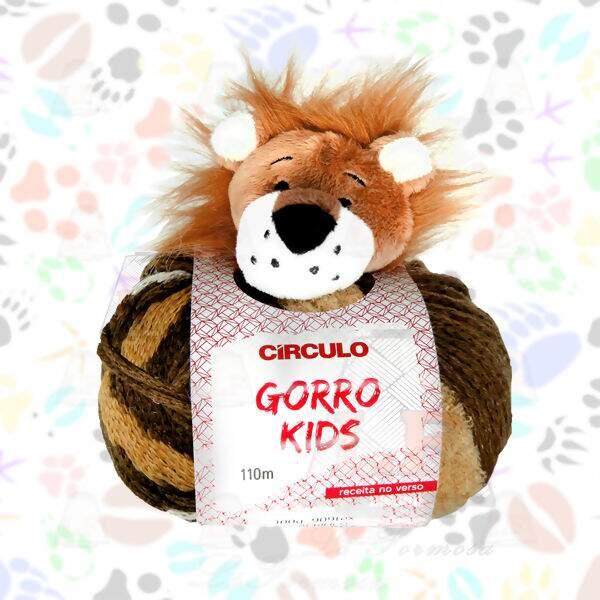 Círculo Gorro Kids Lã Círculo Gorro Kids 100g (110m)   Lã Formosa cd44a25d308